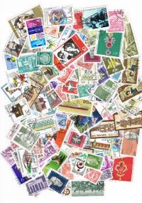 200 different East Germany packet